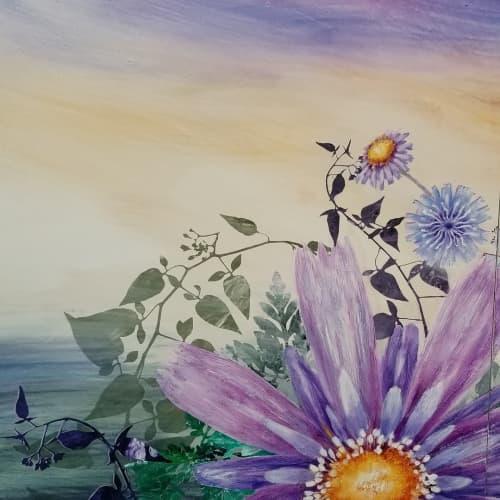 Flower Painting | Paintings by Cara Enteles Studio | Cara Enteles Studio in New York