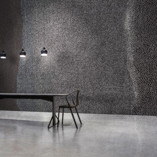 Wallpaper by Jill Malek Wallpaper - Tides   Coal