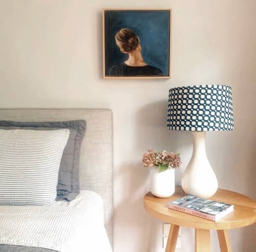 Paintings by Holly Harper seen at Private Residence, Melbourne - Hair pin