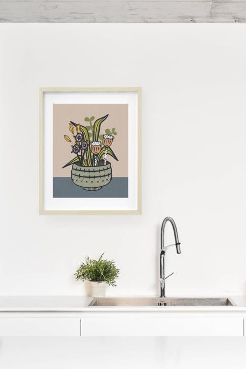Paintings by Birdsong Prints - Modern Botanical Print, Kitchen Art