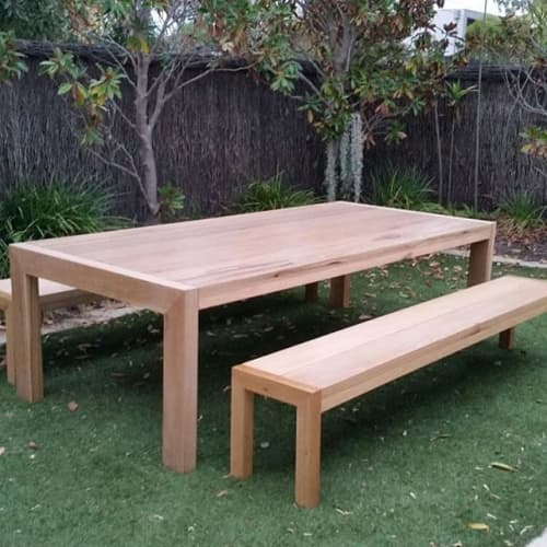 Alfresco Table Setting | Tables by OZTABLES | OzTables Studio in McKinnon