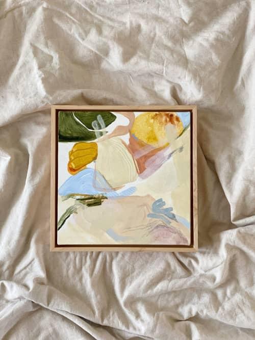 "Paintings by Quinnarie Studio at Bellingham, Bellingham - ""View from above"""