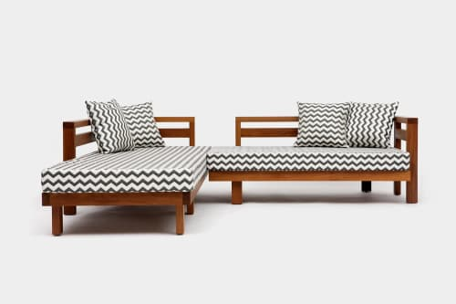 Couches & Sofas by ARTLESS seen at 12130 Millennium Dr, Los Angeles - Honest Outdoor Sectional