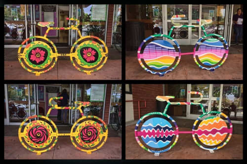 Bike Stands   Public Sculptures by Arthur Koch