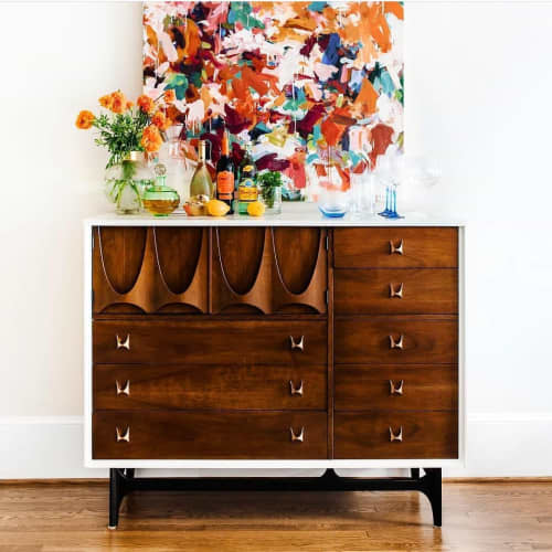 Furniture by Martha Leone Design seen at Private Residence, New York - Custom Cabinet