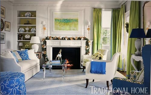 Paintings by Lisa Tureson  STUDIO ARTISTICA seen at Private Residence - Oasis