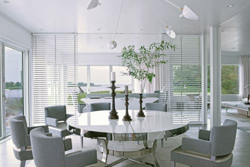 Chairs by VW Home by Vicente Wolf at Private Residence, Water Mill, Water Mill - Chair