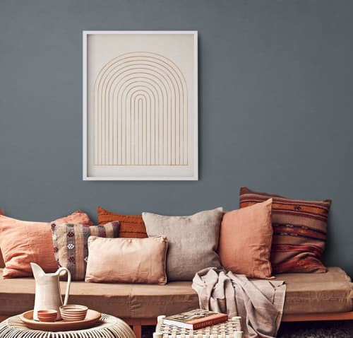 Art & Wall Decor by forn Studio by Anna Pepe seen at Creator's Studio, Tbilisi - Giclee Print #056