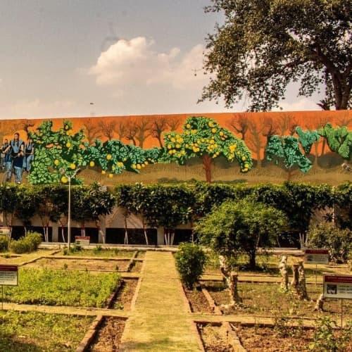 Fasal/Harvest | Street Murals by Amitabh Kumar