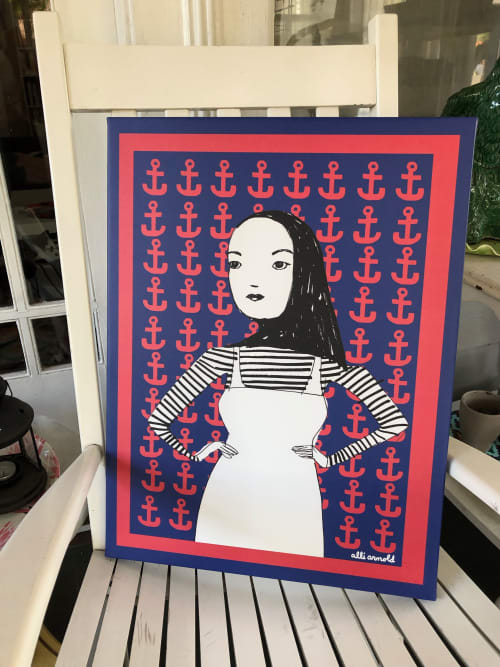 Staunch Woman | Art & Wall Decor by Alli Arnold