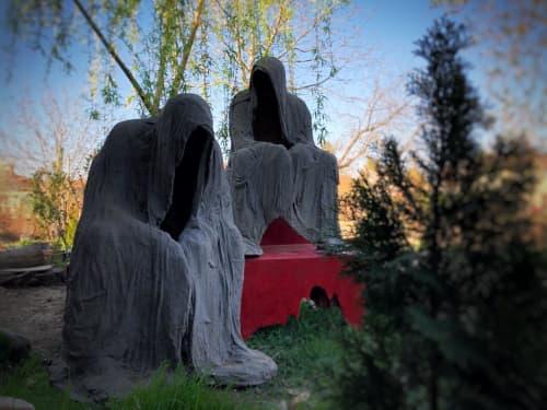Public Sculptures by Linda-Saskia Menczel seen at Timișoara, Timișoara - Dialogue