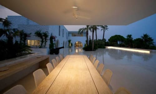 Lighting by Light in Space seen at Spetses - Lighting design