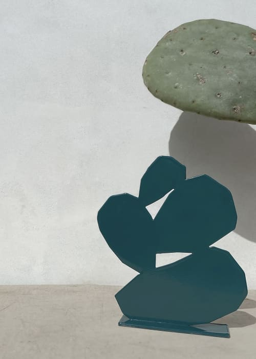 Opuntia metal sculpture | Sculptures by Upton | Whitney Museum of American Art in New York