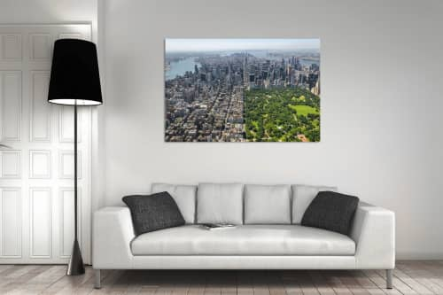 Photography by Richard Silver Photo seen at Creator's Studio, Boynton Beach - Central Park by Helicopter