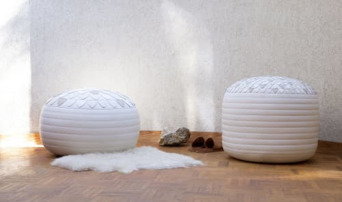 Benches & Ottomans by Moses Nadel - Mandala Pouf