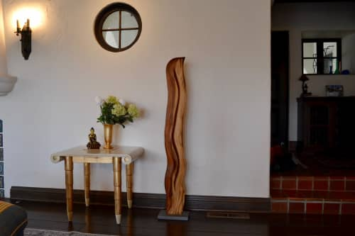 Abstract Wood Sculpture - La Luz   Sculptures by Lutz Hornischer - Sculptures & Wood Art