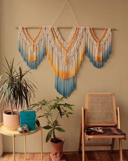Macrame Wall Hanging by Agnes Hansella seen at Private Residence, Jakarta - SEDNA