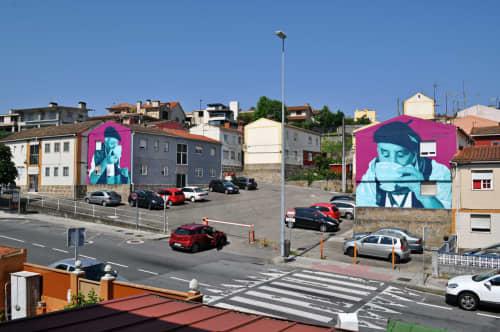 Unha Cunda de Viño | Murals by Mon Devane