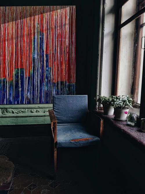 Paintings by Marco Domeniconi Studio seen at Creator's Studio, New York - NYC