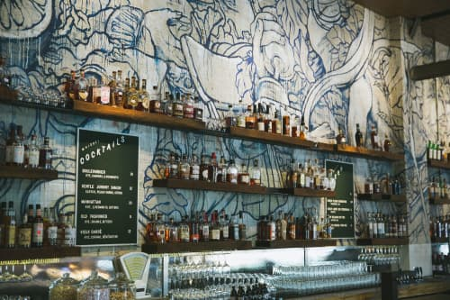Bacchanalia   Murals by Taylor White   Whiskey Kitchen in Raleigh