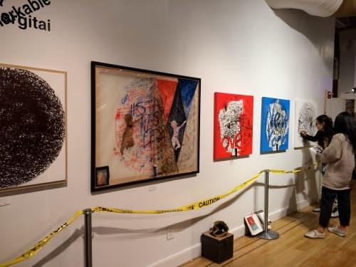 Paintings by Tibor Hargitai Art seen at New York, New York - DOTART