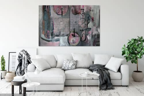 That's  All She Wrote | Paintings by Jillian Goldberg