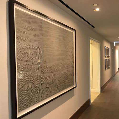 Paper Reliefs | Wall Hangings by Rachel Doniger | The Ritz-Carlton, Chicago in Chicago