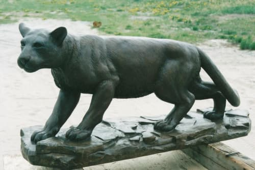 Cougar | Public Sculptures by Don Begg / Studio West Bronze Foundry & Art Gallery