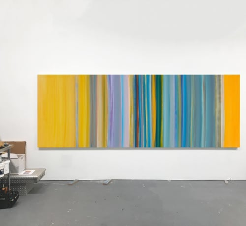 Flow 3 | Paintings by Willy Bo Richardson | Artist Studio NYC in New York