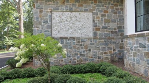 Art & Wall Decor by Maverick Mosaics seen at Private Residence, McLean - Life Finds a Way