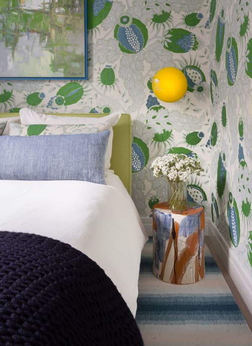 Wallpaper   Wallpaper by Holland & Sherry   Private Residence, Chelsea in New York