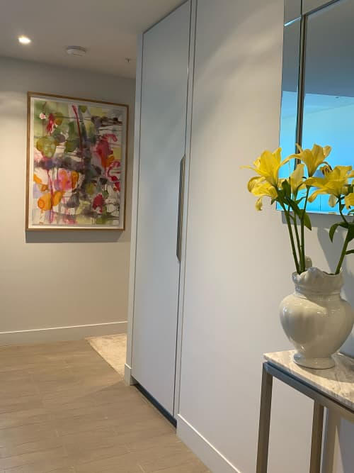 Paintings by Wendy Grace seen at Private Residence, Melbourne - At the Lolly shop