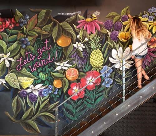 Indoor Mural | Murals by Kara Bella Art | The Brixton in Babylon