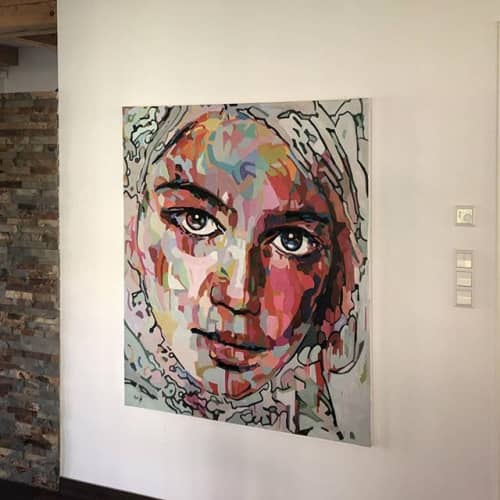 Paintings by Noemi Safir Artist - Now Me, 140/120 cm, painting