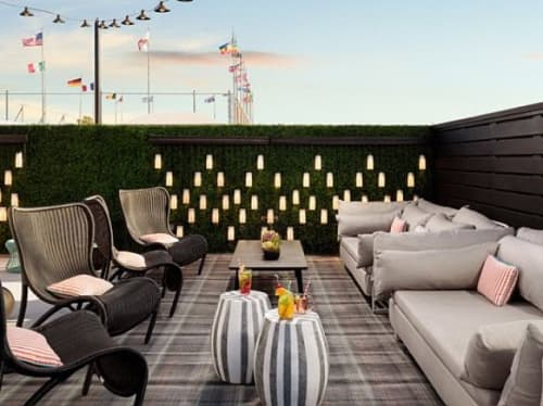 Outdoor Pendants | Pendants by Bluebird Lighting | Le Parc Suite Hotel in West Hollywood