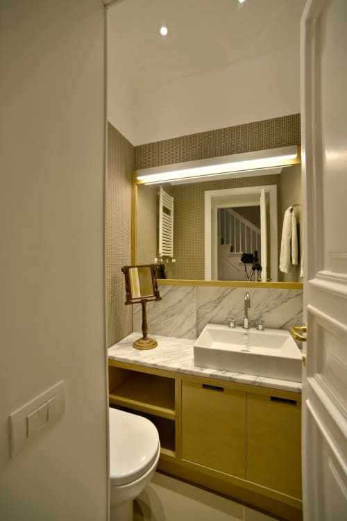 Sink   Water Fixtures by Catalano   Private Residence, Rome in Rome