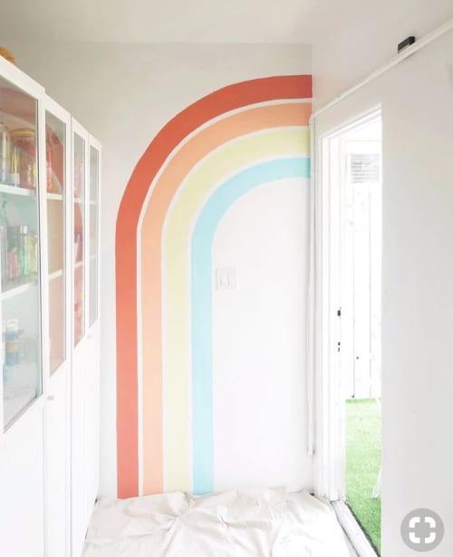 Rainbow Mural | Murals by Stefanie Bales Fine Art | Wee Gather in San Diego