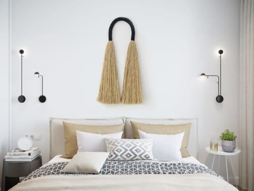 Macrame Wall Hanging by YASHI DESIGNS seen at Private Residence, Malibu - Large Jute Arcus