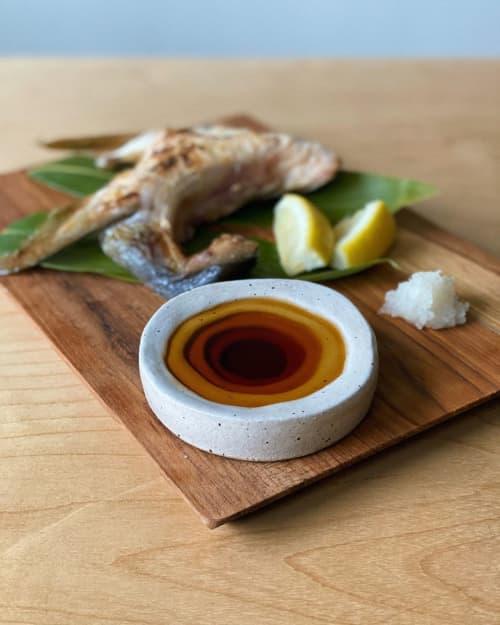 Tableware by Siera Matsuo Ceramics seen at Seattle Fish Guys, Seattle - Sauce Dish