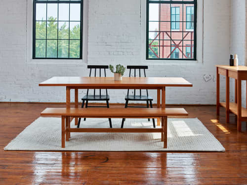 Tables by Chilton Furniture Co. seen at Creator's Studio, Freeport - Union Dining Table