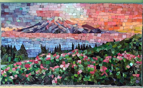 Wall Hangings by JK Mosaic, LLC seen at Creator's Studio, Elma - Tahoma