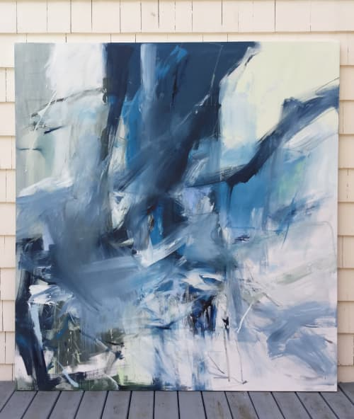 """Abstract painting """"Still Moving"""" 