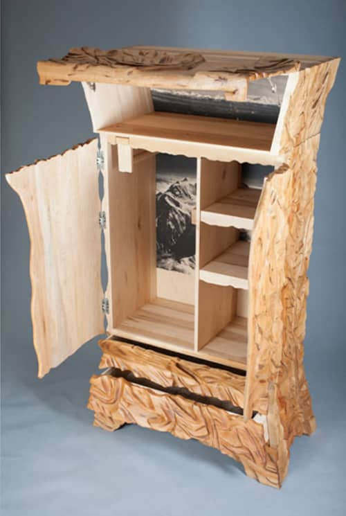 Furniture by Alicia Dietz Studios seen at Private Residence, Cleveland - The Mountain Dresser