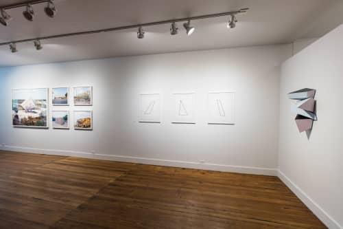 Art & Wall Decor by Dameon Lester seen at grayDUCK Gallery, Austin - Calving Sequence Deconstructed (c1, c3, c5): Blue
