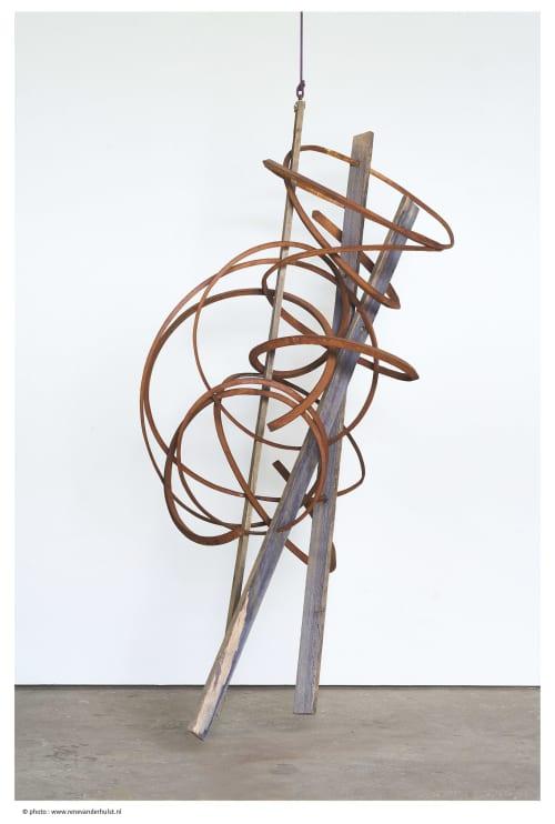 Sculptures by Pieter Obels at Rosenfeld Porcini, London - Haboob series #7