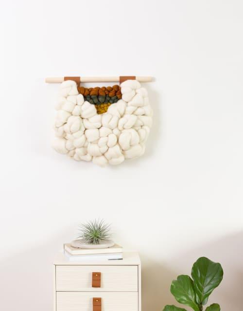 Cauliflower   Wall Hangings by Keyaiira   leather + fiber