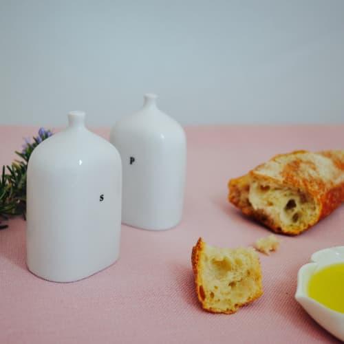 Tableware by Maia Ming Designs seen at Creator's Studio, Sant Cugat del Vallès - VIALS - Salt + Pepper