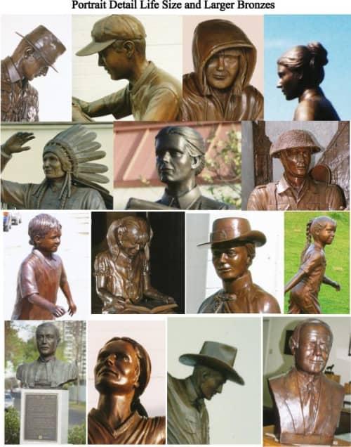 Bersinski, Mr. | Public Sculptures by Don Begg / Studio West Bronze Foundry & Art Gallery