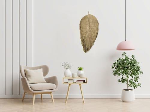 Macrame Wall Hanging by YASHI DESIGNS seen at Creator's Studio, Milpitas - Set of XL Macrame Leaf wall Hanging- PARNA