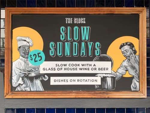 Signages | Signage by Mielo | The Clock Hotel Bottle Shop in Surry Hills